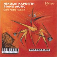 Cover of CDA67433 - Kapustin: Piano Music, Vol. 2