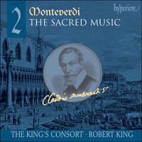 Cover of CDA67438 - Monteverdi: The Sacred Music, Vol. 2