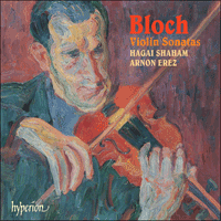 Cover of CDA67439 - Bloch: Violin Sonatas