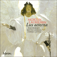 CDA67449 - Lauridsen: Lux aeterna & other choral works