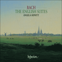 Cover of CDA67451/2 - Bach: The English Suites