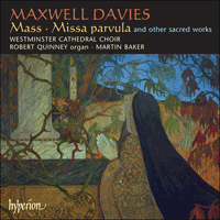 Cover of CDA67454 - Maxwell Davies: Mass & other choral works