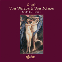 Cover of CDA67456 - Chopin: Four Ballades & Four Scherzos