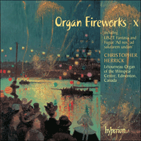 Cover of CDA67458 - Organ Fireworks, Vol. 10