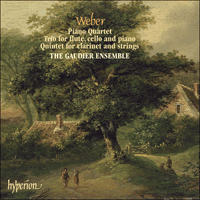 Cover of CDA67464 - Weber: Chamber Music