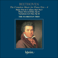 CDA67466 - Beethoven: The Complete Music for Piano Trio, Vol. 4
