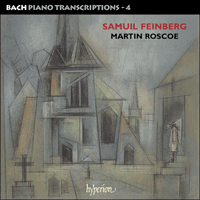 Cover of CDA67468 - Bach: Piano Transcriptions, Vol. 4 � Samuel Feinberg