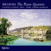 Cover of CDA67471/2 - Brahms: Piano Quartets