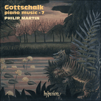 Cover of CDA67478 - Gottschalk: Piano Music, Vol. 7