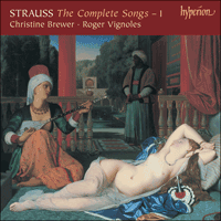 CDA67488 - Strauss: The Complete Songs, Vol. 1 � Christine Brewer