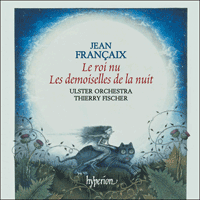 Cover of CDA67489 - Fran�aix: Orchestral Music