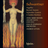 Cover of CDA67493 - Schwantner: Angelfire & other works