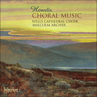 Cover of CDA67494 - Howells: Choral Music