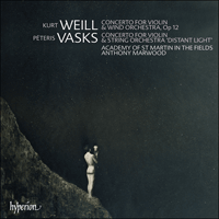 Cover of CDA67496 - Vasks & Weill: Violin Concertos