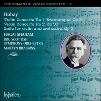 Cover of CDA67498 - Hubay: Violin Concertos Nos 1 & 2