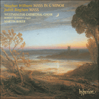 Cover of CDA67503 - Vaughan Williams & Bingham: Mass