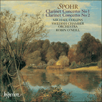 Cover of CDA67509 - Spohr: Clarinet Concertos Nos 1 & 2