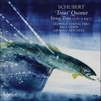 Cover of CDA67527 - Schubert: 'Trout' Quintet