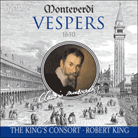 Cover of CDA67531/2 - Monteverdi: Vespers