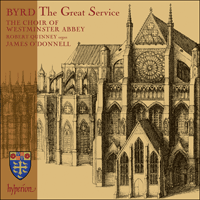 Cover of CDA67533 - Byrd: The Great Service & other works
