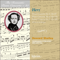 Cover of CDA67537 - Herz: Piano Concertos Nos 3, 4 & 5