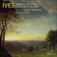 Cover of CDA67540 - Ives: Symphonies Nos 1 & 4