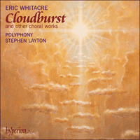 Cover of CDA67543 - Whitacre: Cloudburst & other choral works