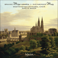 Cover of CDA67559 - Brahms & Rheinberger: Mass