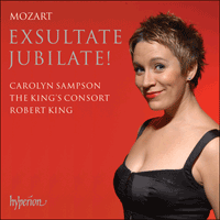 Cover of CDA67560 - Mozart: Exsultate jubilate!