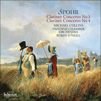 Cover of CDA67561 - Spohr: Clarinet Concertos Nos 3 & 4