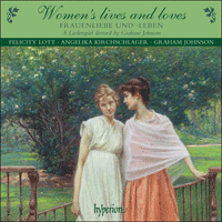 Cover of CDA67563 - Women's lives and loves