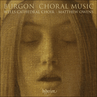 Cover of CDA67567 - Burgon: Choral Music