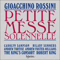 Cover of CDA67570 - Rossini: Petite Messe solennelle