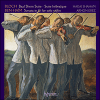 Cover of CDA67571 - Bloch & Ben-Ha�m: Violin Music