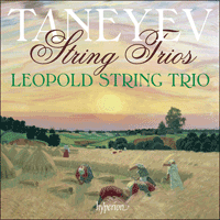Cover of CDA67573 - Taneyev: String Trios