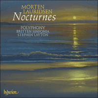 Cover of CDA67580 - Lauridsen: Nocturnes & other choral works