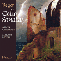 Cover of CDA67581/2 - Reger: Cello Sonatas