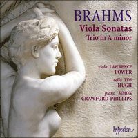 Cover of CDA67584 - Brahms: Viola Sonatas