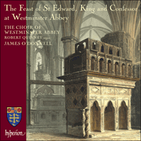 Cover of CDA67586 - The Feast of St Edward at Westminster Abbey