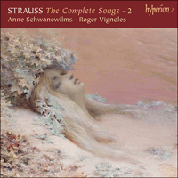 Cover of CDA67588 - Strauss: The Complete Songs, Vol. 2 � Anne Schwanewilms
