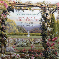 Cover of CDA67590 - Coleridge-Taylor: Piano Quintet & Clarinet Quintet