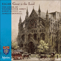 Cover of CDA67593 - Elgar: Great is the Lord & other works