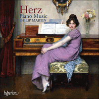 Cover of CDA67606 - Herz: Piano Music