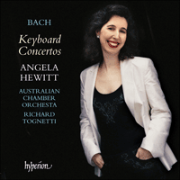 Cover of CDA67607/8 - Bach: Keyboard Concertos