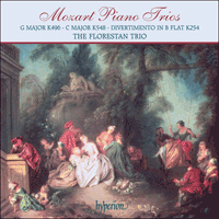 Cover of CDA67609 - Mozart: Piano Trios