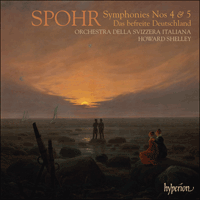 Cover of CDA67622 - Spohr: Symphonies Nos 4 & 5