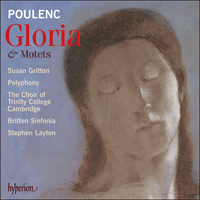 Cover of CDA67623 - Poulenc: Gloria