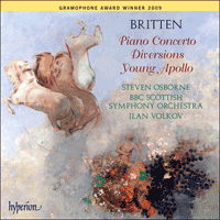 Cover of CDA67625 - Britten: Piano Concerto