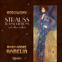Cover of CDA67626 - Godowsky: Strauss transcriptions & other waltzes