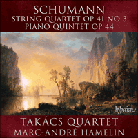 Cover of CDA67631 - Schumann: String Quartet & Piano Quintet